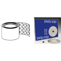 CD Button Pads, Adhesive