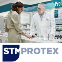 STM Protex Counter Sneeze Guard