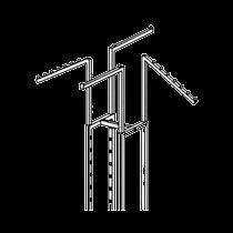 GK75C Four way rack