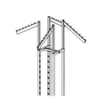 GK70C Four way rack