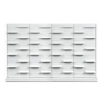K2 RX Shelving - Single Sided Wall Unit