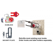 SCAN LOCK® SCANNING HOOK LOCK