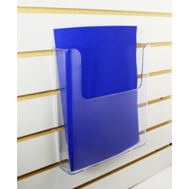 SLATWALL BROCHURE HOLDER