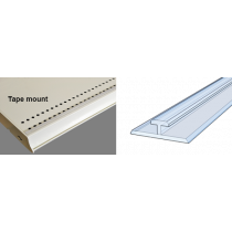 REAR & FRONT RAILS FOR PUSHERS & DIVIDERS