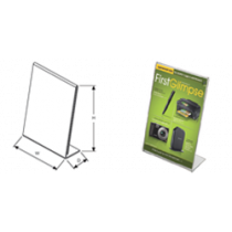 Easel Style Acrylic Sign Holders